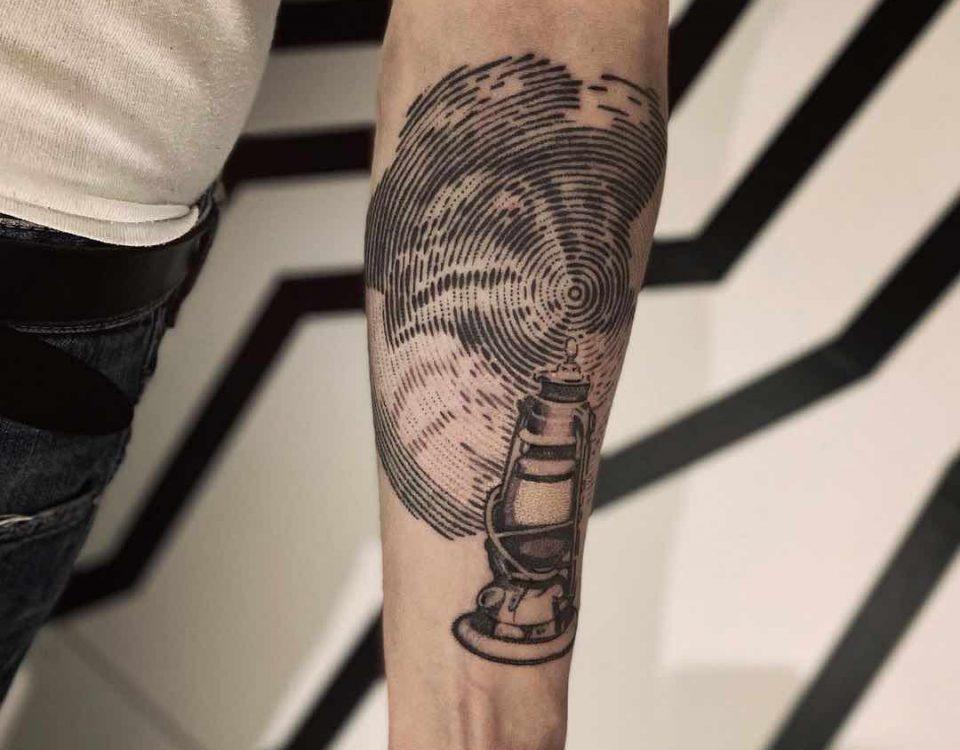 medico della peste tattoo